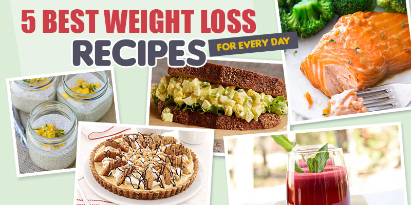 5 Best Weight Loss Recipes – Infographic