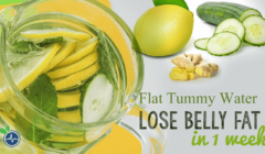 Flat Tummy Water – Lose Belly Fat in 1 Week