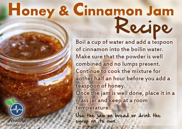 Honey cinnamon jam recipe