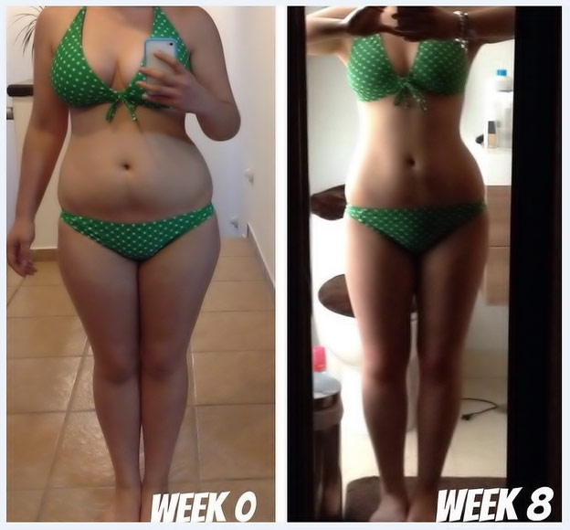 Before And After Green Tea Fat Burner