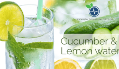 Cucumber Lemon Water – Perfect Detox Drink