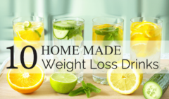 10 Homemade Weight Loss Drinks