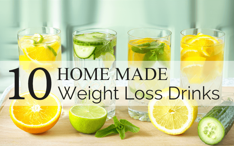 homemade weight loss drink