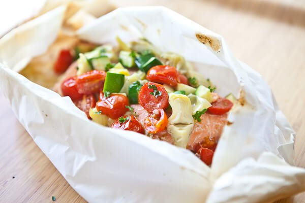 Baked Fish in Parchment Recipe